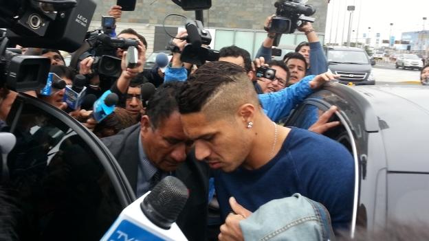 Guerrero juega actualmente en el Corinthians de Brasil. (Rosario Salazar)