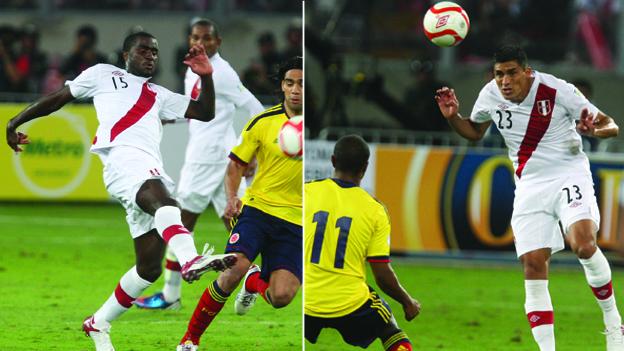Ramos y Álvarez jugaron juntos los partidos ante Colombia y Uruguay de estas Eliminatorias. (Ilustración Depor)