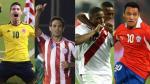 Eliminatorias Brasil 2014: así quedó la tabla de posiciones