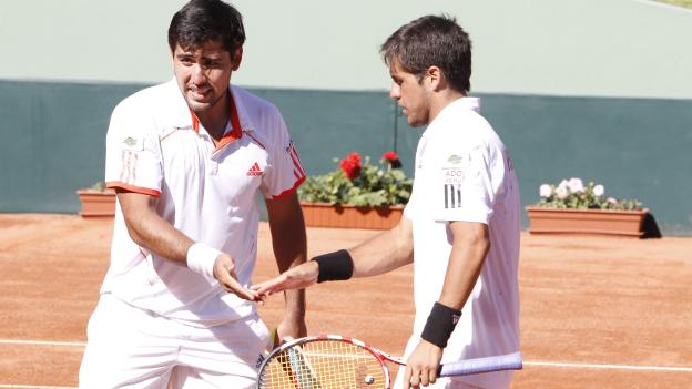 Sergio galdos y duilio beretta hacen dupla en dobles con la bicolor