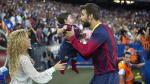 Shakira y Milán: hinchas número uno de Gerard Piqué
