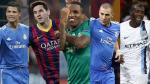 Champions League: el 11 ideal de la primera jornada