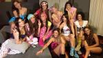 Esto es Guerra: Kina Malpartida y todas las chicas en pijamada