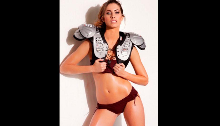 Fútbol Americano, modelos, Katherine Webb