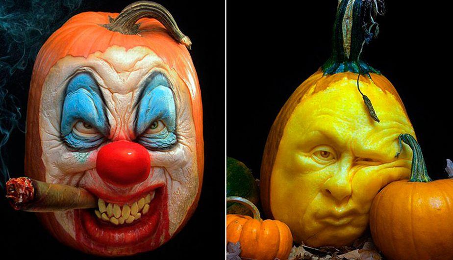 Halloween las calabazas m s alucinantes del mundo fotos - Disenos de calabazas ...