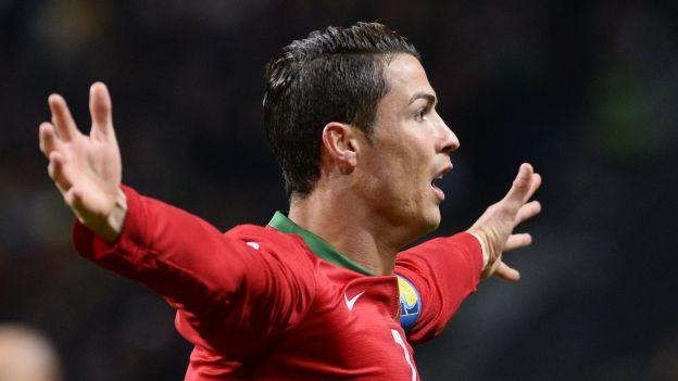 Cristiano Ronaldo lleva 66 goles en el año calendario. (AFP)