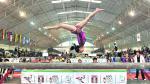 Sandra Collantes ganó la primera medalla de oro en el Sudamericano de Gimnasia