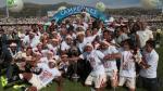 Universitario campeón: la celebración de jugadores en el camerino (VIDEO)