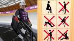 Sochi 2014: organizadores enseñan a deportista a cómo usar un baño