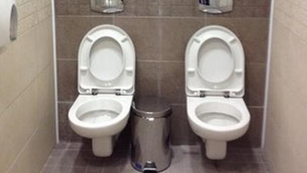 Sochi 2014: dos inodoros juntos en el baño de hombres causan ...