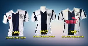 Las pioneras. En 1986 Nike, en 1987 y 1988 fue Puma. La última trajó un listón negro.