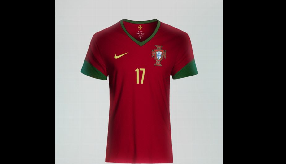 Brasil 2014  Portugal presentó su nuevo uniforme con Cristiano Ronaldo como  modelo 33680d21f3ad9