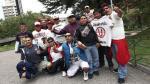 Universitario tuvo una cálida bienvenida a su llegada a La Paz