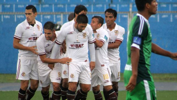 UTC le ganó 2-1 a Los Caimanes en Cajamarca (VIDEO)