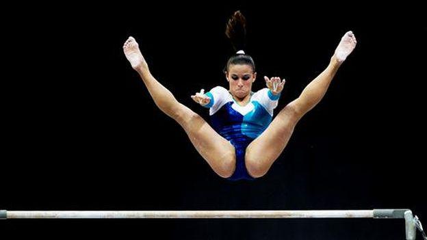 Jade Barbosa sumó una de las medallas de oro para Brasil en gimnasia. (Difusión)