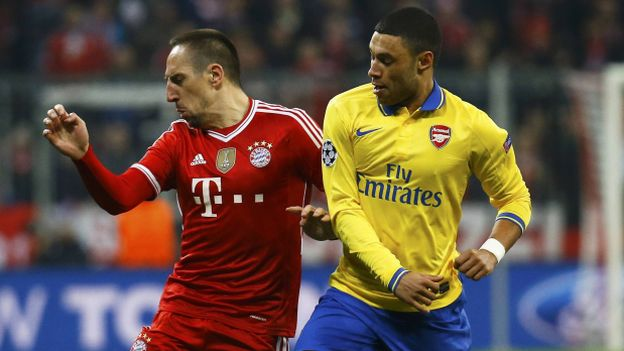 Bayern Munich 0-0 Arsenal en vivo por la Champions League