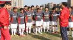 La Selección Peruana Sub 17 ya está en Santiago para disputar los Odesur 2014