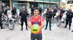 Juan Aurich: Policía chiclayana también es hincha de Germán Pacheco