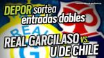 Real Garcilaso vs. 'U' de Chile: Depor y Fox Sports te regalan 12 entradas dobles
