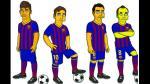 Barcelona: Lionel Messi y Neymar ficharon por Los Simpson