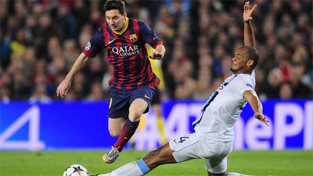 Barcelona 0-0 Manchester City en vivo con Lionel Messi por la Champions League