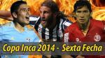 Copa Inca 2014: esta es la programación de la sexta fecha del torneo