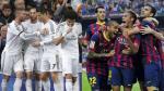 Barcelona vs. Real Madrid: los dos partidos que jugaron en esta temporada (VIDEOS)