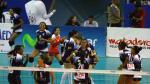 Liga Nacional de Vóley: San Martín y su emotiva celebración tras vencer a César Vallejo (FOTOS)