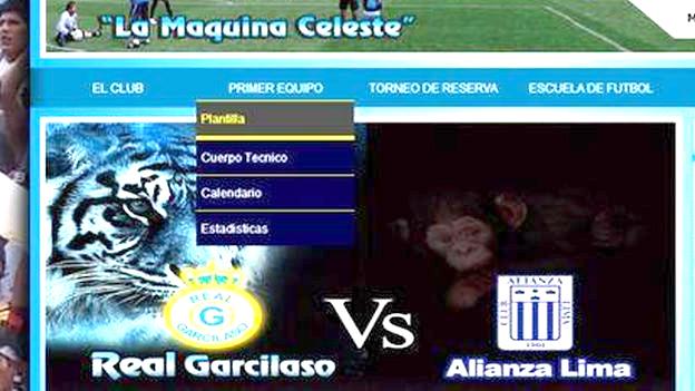 Este fue el afiche que lanzó la página oficial del Real Garcilaso. (Captura página Real Garcilaso)