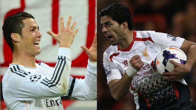 Video Highlights Golden Boot 2013/2014, Ronaldo vs Luis Suarez