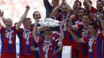 Bayern Munich levantó el título de la Bundesliga en el Allianz Arena (VIDEO)
