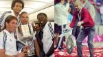 Josep Guardiola y su accidente con el trofeo al estilo de Sergio Ramos