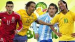 Brasil 2014: el once ideal de los no convocados vs. los no clasificados
