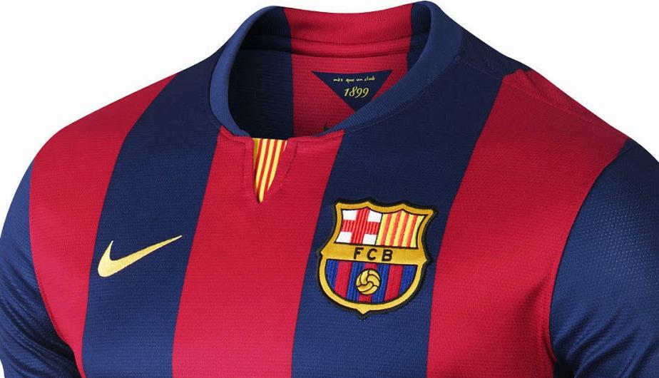 Barcelona  las camisetas de la temporada 2014-15 a todo detalle (FOTOS)  9406f68b9ccf8