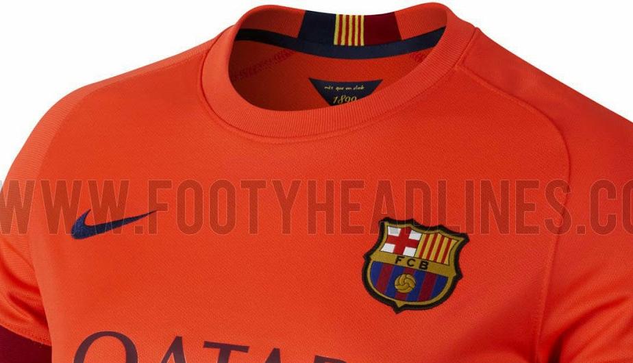 Barcelona  las camisetas de la temporada 2014-15 a todo detalle (FOTOS)  91a02e2b974