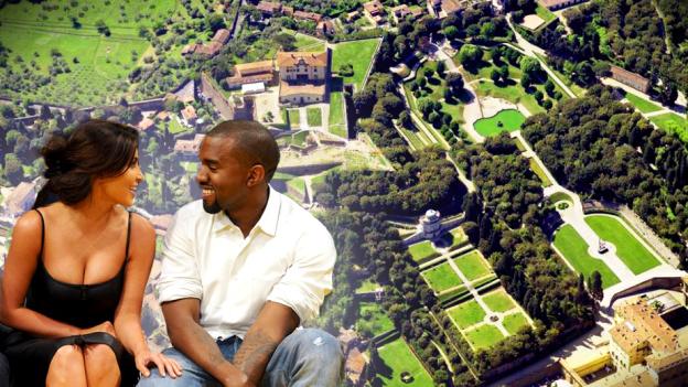 Kim kardashian y kanye west ocho cifras de un millonario for Decoracion casa kim kardashian