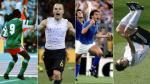 Ronaldo, Iniesta, Zidane y once celebraciones mundialistas que quedaron en la historia