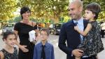 Josep Guardiola se casó en secreto con su mujer Cristina Serra