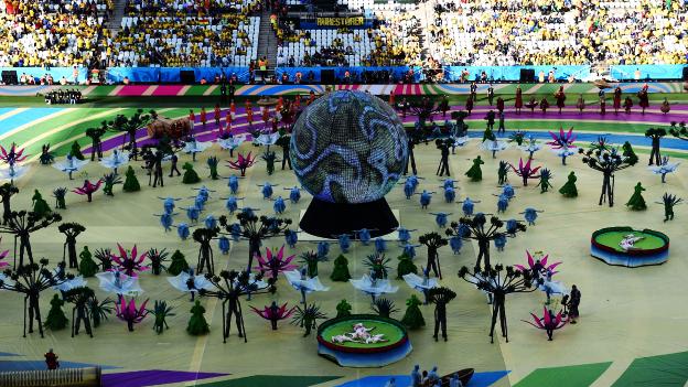 Brasil 2014 arranca con el partido de Brasil y Croacia. (AFP)
