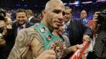 Miguel Cotto derrotó al argentino Sergio Martínez e hizo historia en el boxeo (VIDEO)