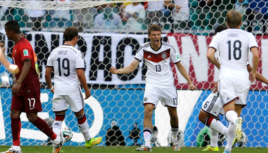Fútbol Internacional, Selección de Alemania, Brasil 2014, Selección de Portugal, Alemania vs. Portugal