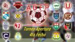 Torneo Apertura 2014: árbitros, hora y canal de la cuarta fecha - Noticias de simon estadio heraclio tapia hora