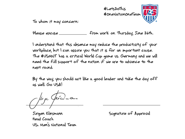 Brasil 2014 J 252 Rgen Klinsmann Firma Permisos Para Que Todo