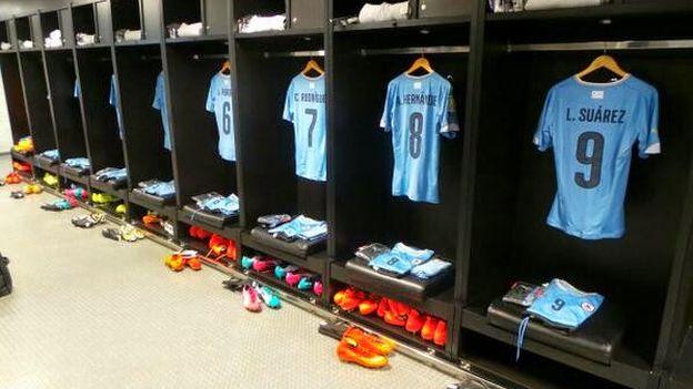 Colombia vs. Uruguay: camiseta de Luis Suárez está en el ves
