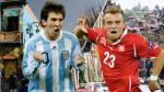 Brasil 2014: Suiza le gana a Argentina en todo... menos en fútbol