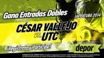 César Vallejo vs. UTC: Depor te regala entradas dobles para este partido - Noticias de cesar vellejo