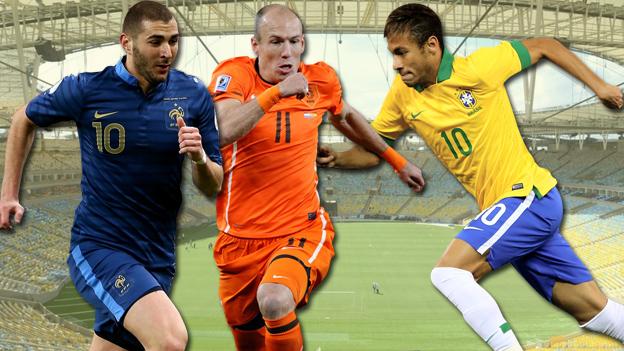 Brasil 2014: el viernes arrancan los cuartos de final de la Copa del Mundo.