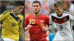 Brasil 2014: James, Kroos y Hazard jugaron el Mundial de los Jotitas - Noticias de sudamericano sub 17 argentina