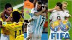 Brasil 2014: así luciría el ranking Fifa antes de los cuartos de final - Noticias de herzegovina inglaterra espana