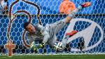 Julio César se ayudó de un rosario para tapar los penales a Chile en Brasil 2014 - Noticias de selección nigeriana